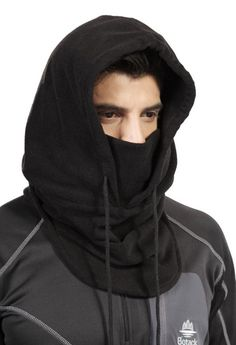 Ohuhu Multi-Purpose Tactical Sports Balaclava Outdoor Winter Wind Proof - Ski Motorcycle Full Face Mask, Black