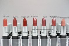 mac lipstick swatches 7 All MAC Lipsticks Photos and Swatches