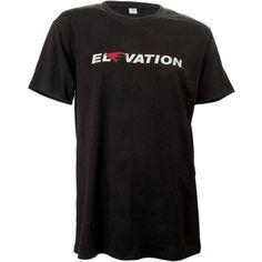 Elevation Logo T-Shirt, Black, Size: Medium