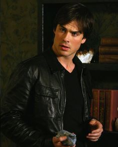 "Ian Somerhalder as Damon Salvatore in The Vampire Diaries Season 1 ""Pilot"" The Vampire Diaries, Damon Salvatore Vampire Diaries, Ian Somerhalder Vampire Diaries, Vampire Diaries Wallpaper, Vampire Diaries The Originals, Ian Somerhalder Young, Nikki Reed, Stefan Salvatore, Caroline Forbes"