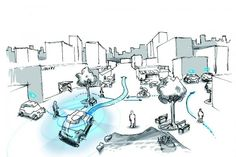 As cities get denser, where are the challenges and opportunities in helping people get from point A to point B? Skyring, B 'Urban mobility – What does the future hold? Sustainable City, Challenges And Opportunities, Urban Planning, Mobile Application, Helping People, Hold On, Engineering, Construction, Architecture