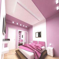 Schlafzimmer Violett Gestalten