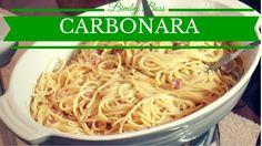 La carbonara proposta in questo video è una versione rivisitata, in cui è stato sostituito lo scalogno con l'aglio e la pancetta al posto del guanciale per dare maggior carattere al piatto. Eseguendo la ricetta con il Bimby è necessario inserire l'olio.