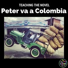 This year our last novel of the year in Spanish 1 is  Peter va a Colombia . It is an awesome novice level reader by fellow Iowan Craig Klein...
