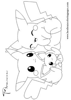 free printable pikachu coloring pages for kids coloring pages pinterest pikachu free printable and pokemon coloring