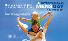 Happy Men's Day Wishes Messages 2019 Mens Day Images, World Men's Day, Family Locator App, Happy Man Day, Happy International Men's Day, November 19th, Hope For The Future, Wishes Messages, Life Coaching