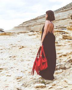 Karma Koma - Sac Calou - Robe Agatta - inspiration mode femme sac cuir  franges couleur e145df9bf36