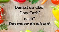 Interessierst du dich für die Low Carb Ernährung? Dann solltest du dir meine Vor- und Nachteile der Low Carb Diät durchlesen.