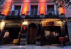 Cardamomo, punto de encuentro en Madrid de los mejores artistas y estudiosos del flamenco, como Joaquín Cortés, Enrique Morente, Estrella Morente...