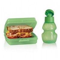 Ensemble sandwich-fraîcheur et bouteille à eau Benny