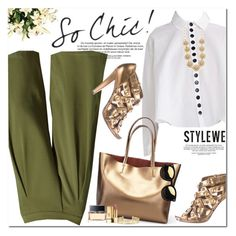 """""""Stylewe"""" by oshint ❤ liked on Polyvore featuring Lulu Frost, Gucci, Givenchy, Yves Saint Laurent and Stella & Dot"""