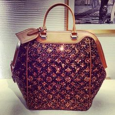 This is the most beautiful Louis Vuitton I've ever laid my eyes on!