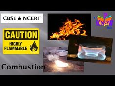 CBSE Science  - What is Combustion, types of Combustion, ignition temper...