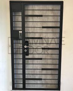 Mild Steel Gate Modern Design & Retro Gate Design, we are able to customize to what you need to match with your home interior design. Home Gate Design, Grill Gate Design, Window Grill Design Modern, Iron Gate Design, Main Door Design, Steel Grill Design, Steel Gate Design, Gate Designs Modern, Modern Design