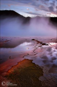 Ethereal Evening, Yellowstone NP, Wyoming