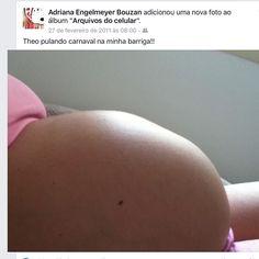Quem aqui tem saudades do bebê pulando Carnaval dentro da barriga???? #materniarte #grupomamaesdesp