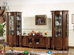 Tv Wall Design, Door Design, Antique Display Cabinets, Luxury Italian Furniture, Candle Art, Tv Cabinets, Luxury Living, Home Interior Design, Home Decor