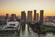 Miami Downtown Sunset