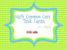 This common core resource contains 20 task cards specifically written for and aligned to CCSS 5.OA.1. 5.OA.1. Use parentheses, brackets, or bra...