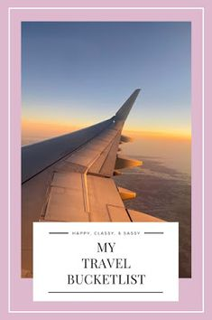 My Travel Bucketlist Travel With Kids, Us Travel, Family Travel, Rest Of The World, Travel Around The World, Around The Worlds, Best Places To Travel, Travel Ideas, Airplane View
