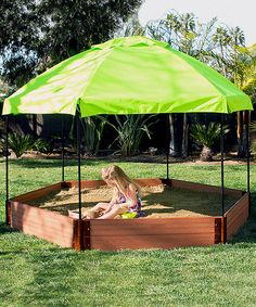 Look at this 1'' Series 7' x 11'' Composite Hexagon Sandbox