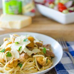 Baby chicken and butternut squash recipe