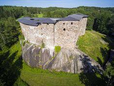 Raaseporin linna rakennettiin 1370-luvulla.
