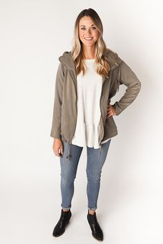 Buy the Joy Jacket sewing pattern from Chalk and Notch. It's fully lined with a relaxed fit, exposed front zipper and optional drawstring at the hem. Sewing Blogs, Sewing Projects, Sewing Tutorials, Patterned Sheets, Dress Making Patterns, Jacket Pattern, Couture, Fashion Fabric, Sewing Clothes
