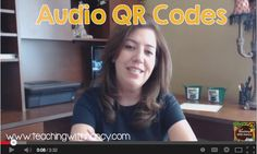 How to create Audio QR codes with Teaching with Nancy