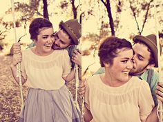 sweeet. love the wardrobe and location setting+sweet, natural expressions.