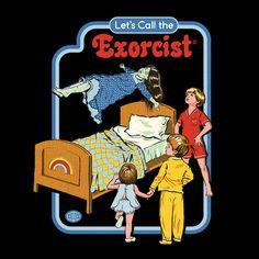 Hilarious Dark Humor Retro Illustrations By Steven Rhodes pics) Just Kids, Bizarre Art, The Exorcist, Vintage Horror, Pics Art, Dark Art, Illustration Art, Retro Illustrations, Cool Art