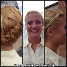Congrats to Carly on your wedding today! Hair by Kristin & makeup by Chrissi! #salonheadcandy #weddings #weddinghair #weddingupdo #weddingmakeup #teamwork #updo #updos #instalike #inspiration #pretty #picoftheday #salonlife #southjersey #follow #hairstyling #lpweeklydo #beauty #btcpics #blondehair #bridalhair #braids #njhair #nofilter #njweddings #makeup #modernsalon