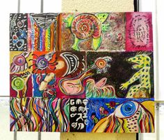 Painting Original ACRYLIC ON CANVAS - FINE ART CONTEMPORARY #IllustrationArt