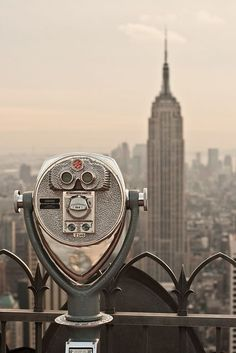 Empire State Building - 50 Sceneries That Will Make You Fall in Love with New York ... [ more at http://travel.allwomenstalk.com ] SourceClimb up to the top of the Empire State building to catch the bird's eye view of NYC.... #Travel #Park #Picture #Named #Terminal #City
