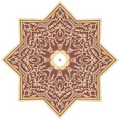 """Moroccan Scroll 36"""" Wide Repositionable Ceiling Medallion - #Y6572   Lamps Plus"""