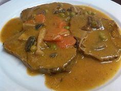 Bokados DIvinos - Redondo de ternera en salsa.