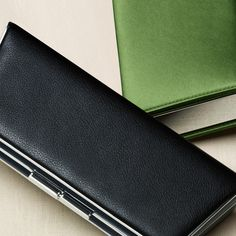 Sabrina clutch in onyx textured leather. #TiffanyPinterest