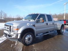 Silver F450 Dually to tow fifth wheel