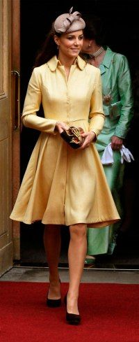In honor of the royal birth, here is one of our favorite looks from The Duchess of Cambridge!