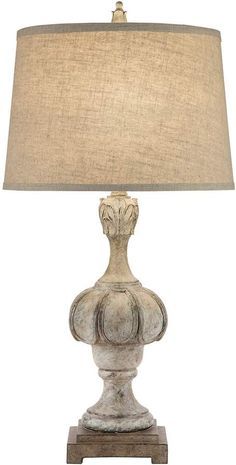 When shopping for a lamp for your home, the number of choices are almost endless. Find the perfect living room lamp, bed room lamp, table lamp or any other type for your specific space. Shabby Chic Lamps, Country Lamps, Floor Lamp Bedroom, Pottery Barn Lamps, Simple Lamp, Table Lamp Wood, Farmhouse Lamps, Cottage Table, Night Table Lamps