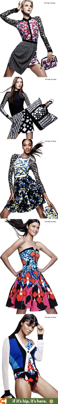 Your First Look At The Upcoming Peter Pilotto Collection For Target.  Over 50 items at the link.