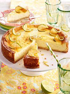 Limetten-Käsekuchen - fruchtig-frisch und soooo lecker!