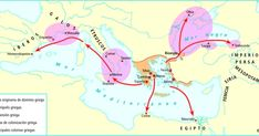Historical Maps, Ancient Greece, Geography, History, Expansion, Maps, Athens, Greek, Empire