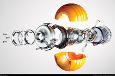 Dyson DC24 Exploded Ball by Lee Wilson | 3D | CGSociety