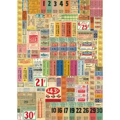 This Ticket Wrapping Paper from Cavallini adds a retro touch to that special present. Great for crafts or framing. This sheet of gift wrap is printed on archival quality paper. Sheet measures: 20W x 28H inches