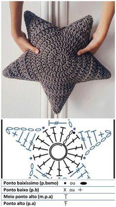 – Free crochet bag instructions – Agli – knitting is as easy as 3 … ? – Free crochet bag – Agli – knitting is as easy as 3 Knitting boils down to three essential skills. Crochet Diy, Crochet Home, Crochet Crafts, Crochet Projects, Diy Crafts, Tutorial Crochet, Sewing Projects, Crochet Cushions, Crochet Pillow