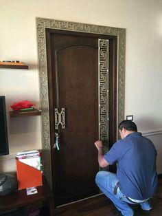 Wooden Front Door Design, Door Gate Design, Room Door Design, Modern Front Door, Door Design Interior, Wooden Front Doors, Main Door Design, Entrance Design, Entrance Doors