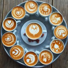 Coffee up! #latteart #coffee