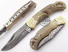 Ram Horn With ScrimShaw 6.5'' Handmade Damascus Steel Folding Pocket Knife Best.Buy.Damascus1 http://www.amazon.com/dp/B00YQAYIL2/ref=cm_sw_r_pi_dp_Hrlawb1ZJQZPH