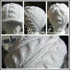 Ravelry: Snow Day Cable Beanie (Loom Knit) pattern by Once Upon A Loom